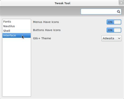 comment ouvrir gnome tweak tool la r 233 ponse est sur