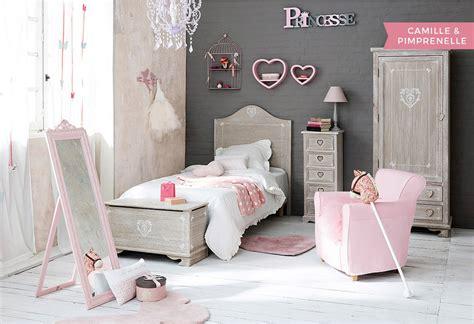 chambre filles chambre fille déco styles inspiration maisons du monde