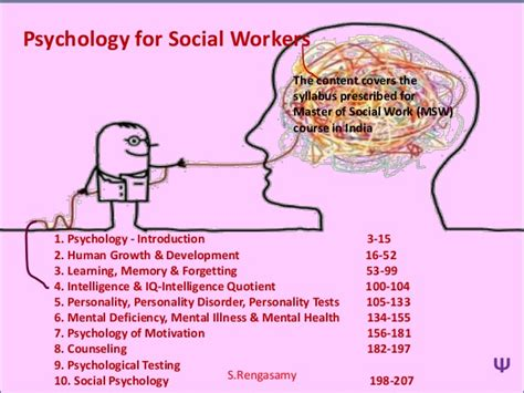 Psychology For Social Workers / Human Service