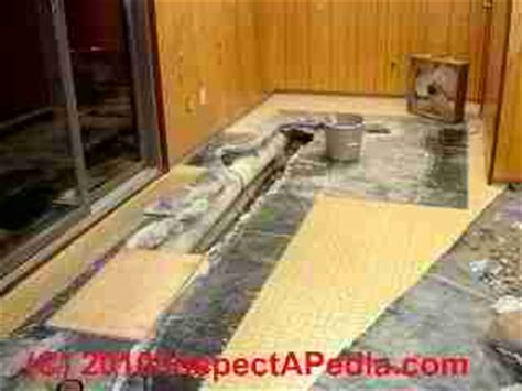 hvac ducts routed  floor slabs problems hazards