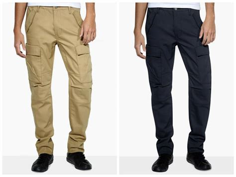 New Levi's 511 Commuter Cargo Pants // Harvest Gold And