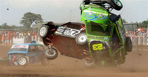 Thrills, spills and hailstones at National Autograss ...
