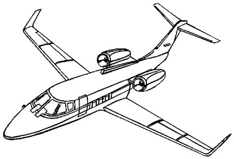 Coloring Airplane by Airplane Coloring Pages Coloringpages1001