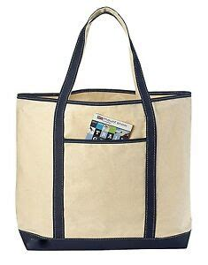 22 quot large canvas reusable grocery shopping bag boat tote totes bag 4 color ebay