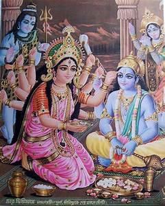 Shiva, Durga, Vishnu, and Kali | SanathanDharma ...