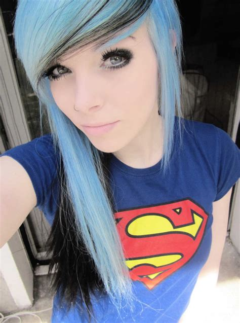 Emo Hairstyles On Pinterest Emo Girls Emo And Emo Scene