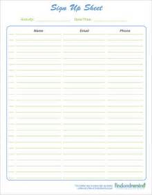 Sheet Template Sign Up Sheet Template 13 Free Documents In Word Pdf Excel
