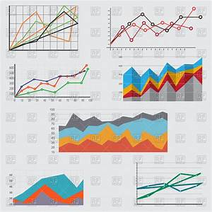 Diagrams  Charts And Graphs Vector Image Of Business