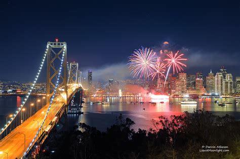 san francisco  years fireworks happy  year