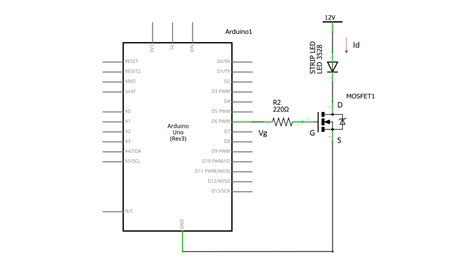Transistors Control Led Strip With Mosfet Pwm