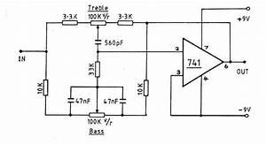 active tone control circuit with circuit diagram circuit With tone circuit