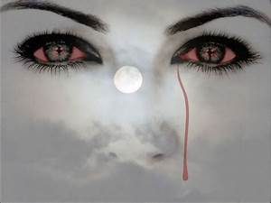 bloody tears haunting eyes picture and wallpaper   Don't ...