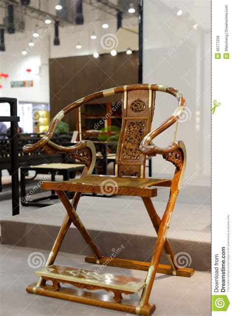 chaise chinoise style folding chair stock photo image 45777259
