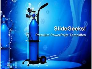 Oxygen Cylinder Science Powerpoint Backgrounds And