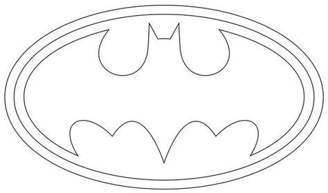batman symbol printable  printable batman coloring