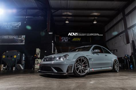 Mercedes Amg Clk 63 Black Series Adv 1 Wheels by Track Spec Mercedes Clk63 Amg Black On Adv 1 Gtspirit