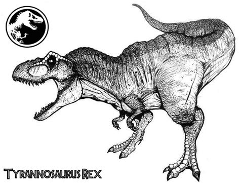T Rex Kleurplaat by Get This T Rex Coloring Pages 61800