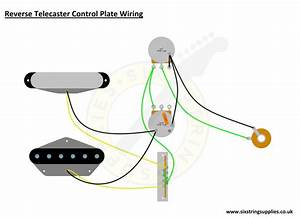 Wiring Diagram From Reverse Telecaster Control Plate Setup