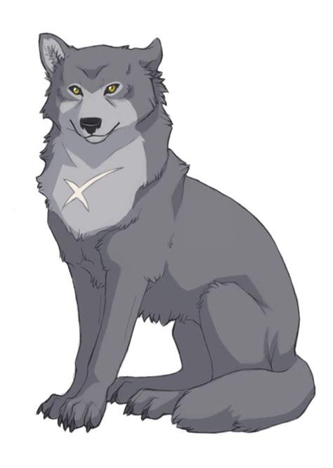 cartoon wolves howling   clip art