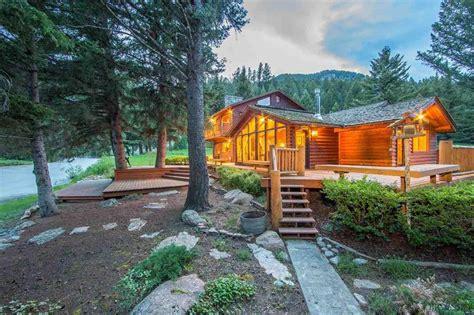 montana cabins for montana log homes for taunya fagan real estate