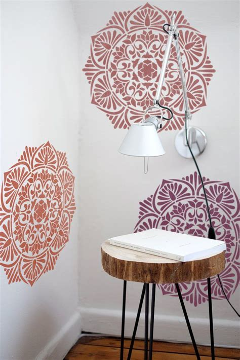 1000 images about decor ideas mandala style stencils for