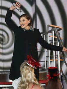 pregnant emma willis covers her bump with diamante
