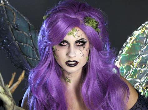 adult halloween makeup tutorial glam dark fairy hgtv