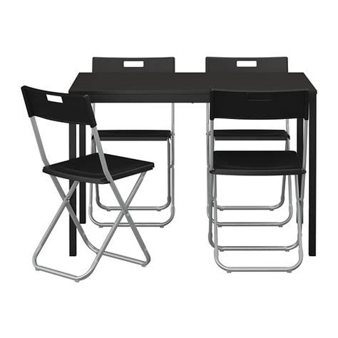 t 196 rend 214 gunde table and 4 chairs ikea