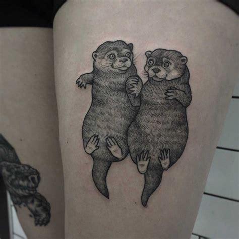 love tattoo otter  tattoo ideas gallery