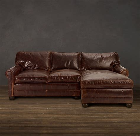 lancaster leather sofa chaises inspiring spaces