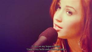 Demi Lovato quote song unbroken stay strong Catch Me ...