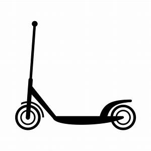 Clipart - Scooter