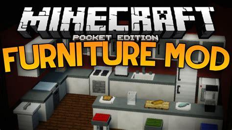 More Furniture In Mcpe!!!  The Furniture Mod Minecraft