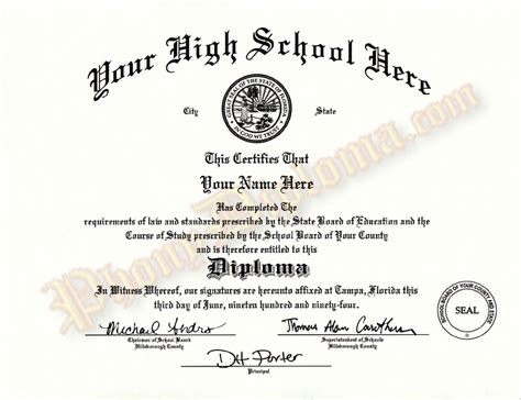free high school diploma templates high school diploma and transcripts midwest design 21850