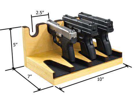 gun safe pistol rack 301 moved permanently