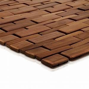 Tapis Bambou Casa : tapis de bain casa pura mia en bambou tapis de sauna 2 coloris ~ Teatrodelosmanantiales.com Idées de Décoration
