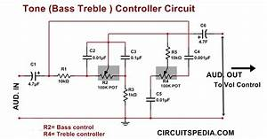 Pre Tone Control Stereo Bassmid Rangetreble By Ic Ne5532