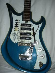 Teisco Spectrum 4 Guitar For Restoration Or Parts