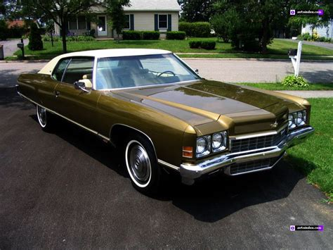 1972 Chevrolet Caprice  Cars Of The 70s Pinterest
