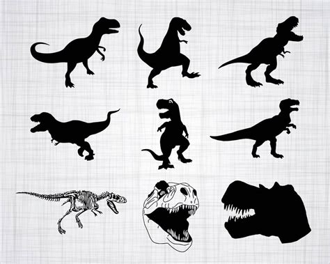 Check out our t rex baby svg selection for the very best in unique or custom, handmade pieces from our digital shops. T-Rex SVG Bundle Trex SVG T-Rex Clipart T-Rex Cut Files ...