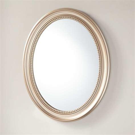 Recessed Mirror Cabinet Bathroom by Favaloro Recessed Mount Oval Medicine Cabinet With Mirror