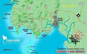 Mapa de Tailandia y TODAS sus Ciudades ® • (abril - 2018)