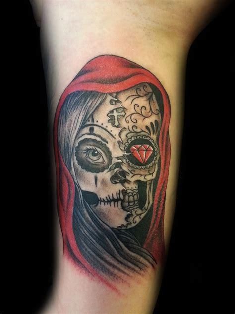 Skull Tattoo  Good Vs Evil  Pinterest  Pretty Much, The