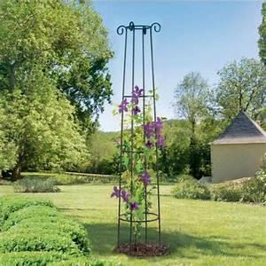 Support Plantes Grimpantes : columna 4 pies en metal 200 cm venta columna 4 pies en ~ Dode.kayakingforconservation.com Idées de Décoration