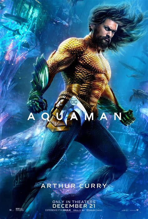 aquaman  wrapped production    posters
