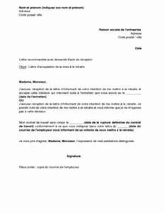 Modèle Effacement Dette : mod le courrier employeur d part retraite sucredesign ~ Medecine-chirurgie-esthetiques.com Avis de Voitures