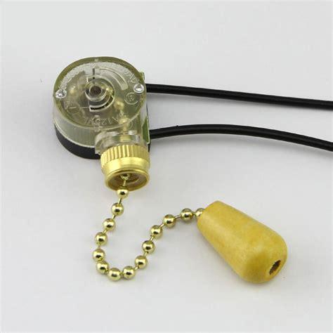 l zipper switch hanging chain ceiling fan switch copper