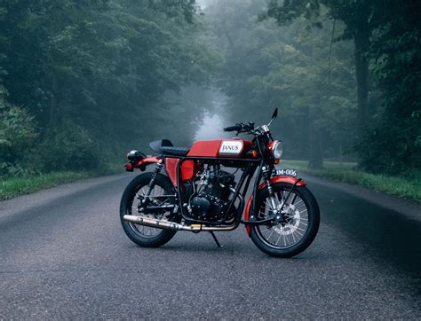 Phoenix 250 Motorcycle • Vintage Style • Small Motorcycle
