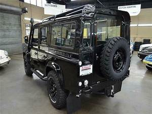 1990 Land Rover Defender 110 167266 Miles Black Metallic