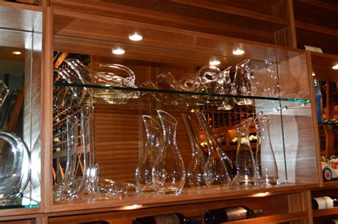 modern custom wine cellar design